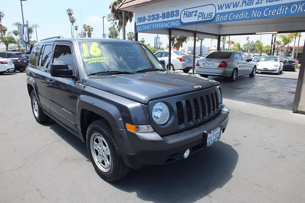 Pre-Owned 2016 Jeep Patriot Sport SUV 4D
