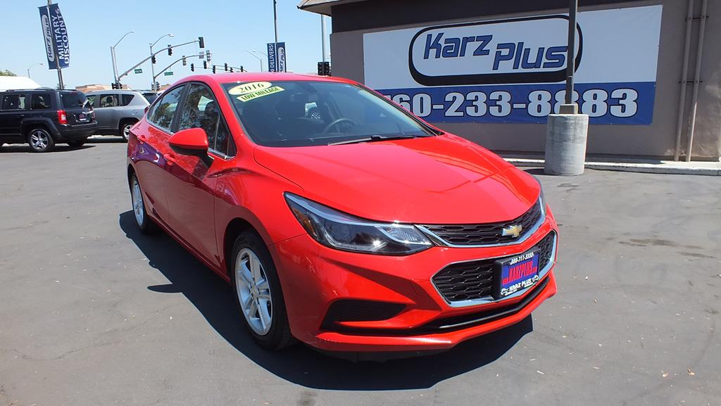 Pre-Owned 2016 Chevrolet Cruze LT Sedan 4D