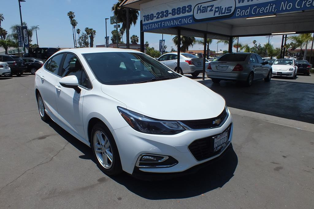 Pre-Owned 2016 Chevrolet Cruze LT Sedan 4D FWD Sedan