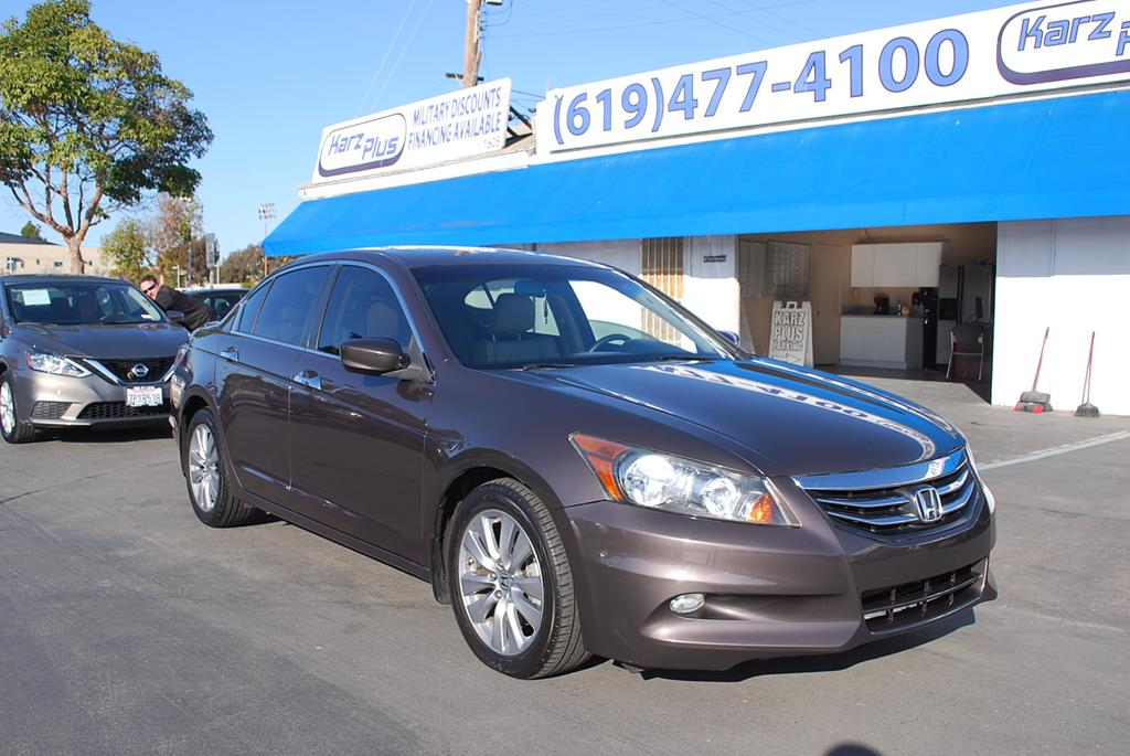 Pre-Owned 2011 Honda Accord Sedan EX-L Sedan 4D