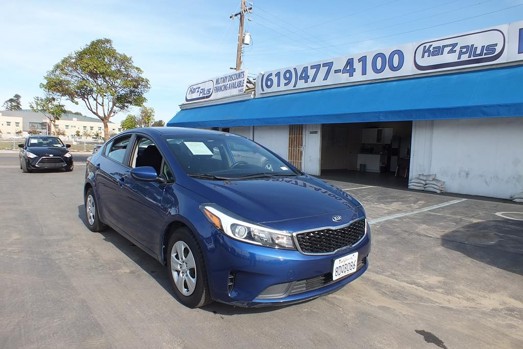 Pre-Owned 2018 Kia Forte LX Sedan 4D