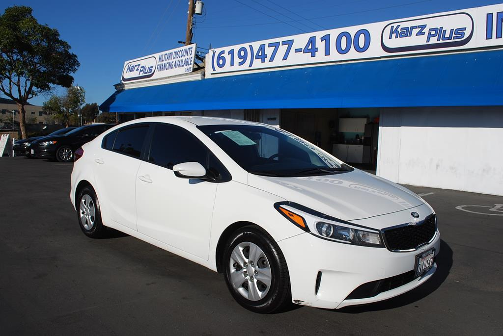 Pre Owned 2017 Kia Forte Lx Sedan 4d Sedan In San Diego Ca 19347