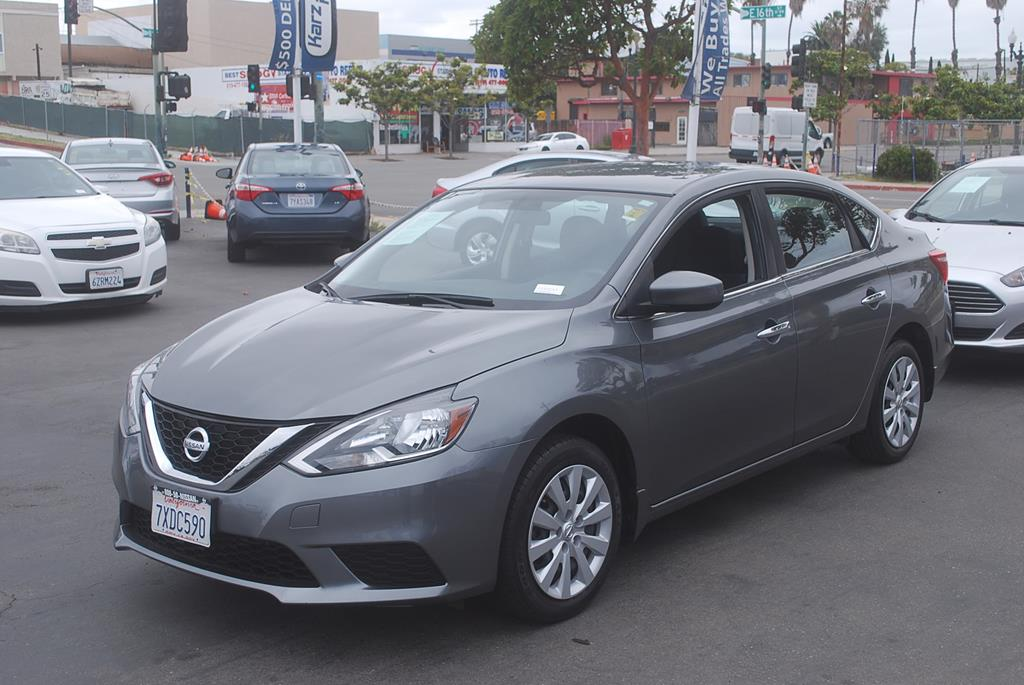 Pre-Owned 2017 Nissan Sentra S Sedan 4D