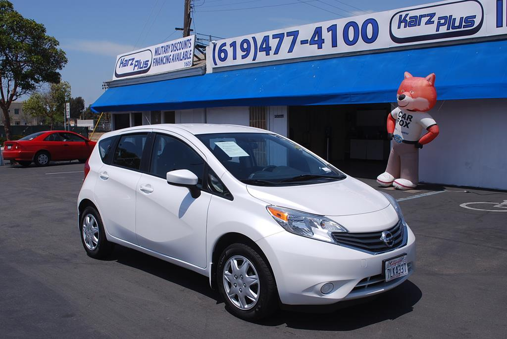 Pre-Owned 2015 Nissan Versa Note Note S Hatchback 4D