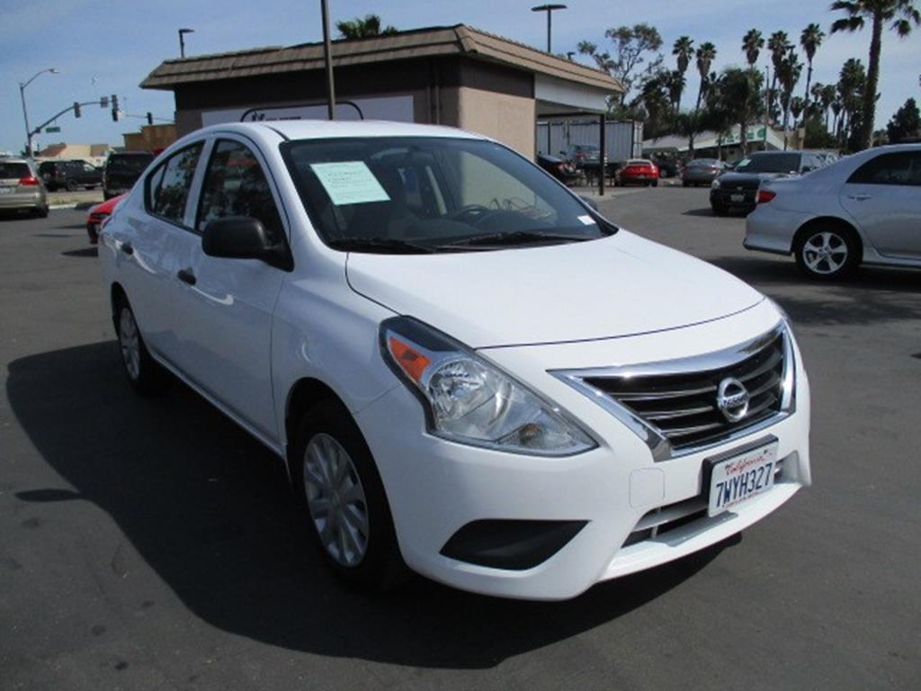 Pre-Owned 2015 Nissan Versa S Sedan 4D