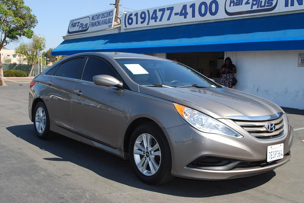 Pre-Owned 2014 Hyundai Sonata GLS Sedan 4D