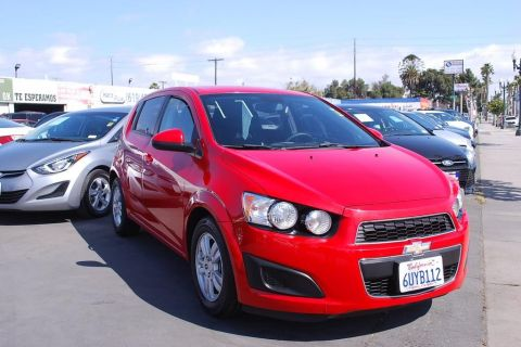 Pre-Owned 2012 Chevrolet Sonic LS Sedan 4D
