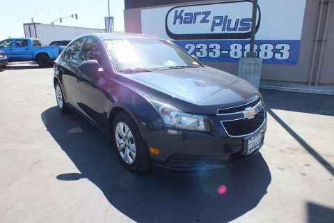 Pre-Owned 2014 Chevrolet Cruze LS Sedan 4D