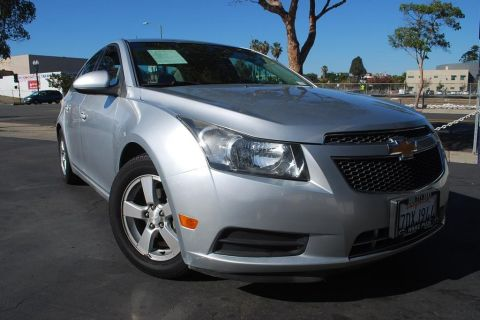 Pre-Owned 2012 Chevrolet Cruze LT Sedan 4D