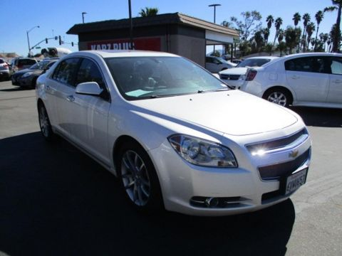 Pre-Owned 2011 Chevrolet Malibu LTZ Sedan 4D