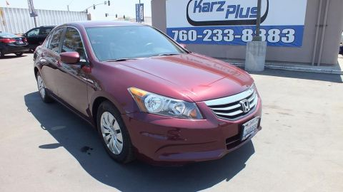 Pre-Owned 2012 Honda Accord Sedan LX Sedan 4D