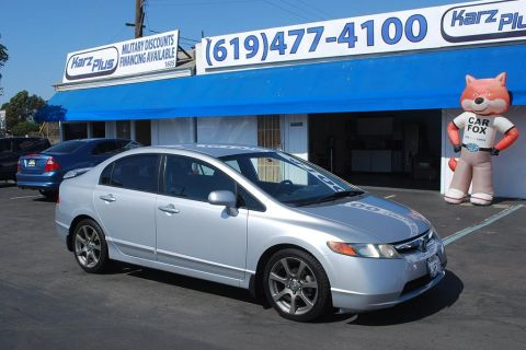 Pre-Owned 2007 Honda Civic Sedan LX