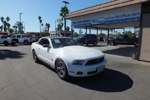 Pre-Owned 2012 Ford Mustang Convertible 2D