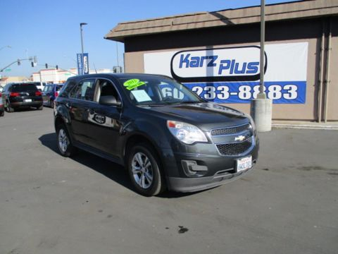 Pre-Owned 2012 Chevrolet Equinox LS Sport Utility 4D