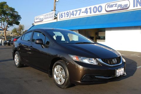 Pre-Owned 2013 Honda Civic Sedan LX Sedan 4D