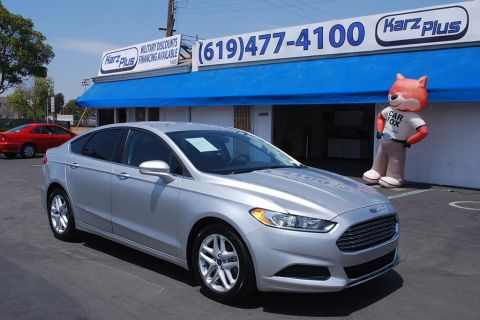 Pre-Owned 2014 Ford Fusion SE Sedan 4D
