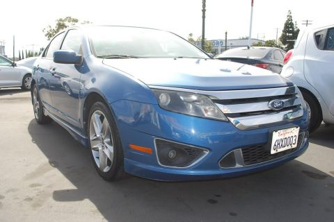 Pre-Owned 2010 Ford Fusion Sport Sedan 4D