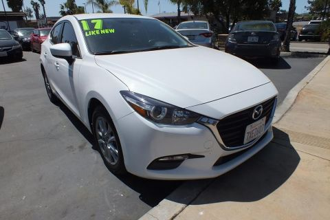 Pre-Owned 2017 Mazda3 Sport Sedan 4D