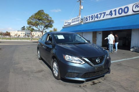 Pre-Owned 2017 Nissan Sentra SV Sedan 4D