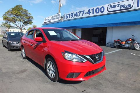 Pre-Owned 2019 Nissan Sentra SV Sedan 4D