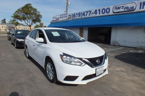 Pre-Owned 2018 Nissan Sentra SV Sedan 4D