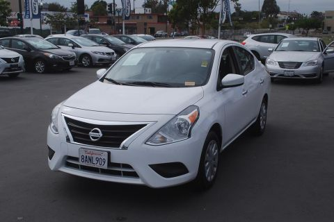 Pre-Owned 2018 Nissan Versa SV Sedan 4D
