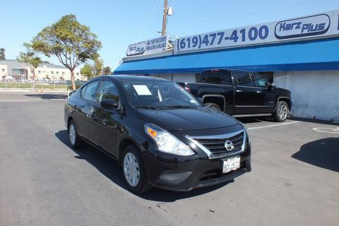 Pre-Owned 2018 Nissan Versa S Plus Sedan 4D