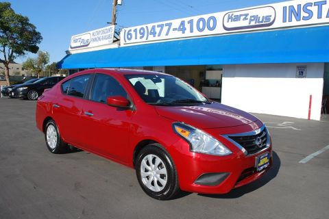 Pre-Owned 2015 Nissan Versa SV Sedan 4D