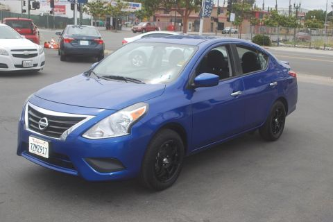 Pre-Owned 2017 Nissan Versa SV Sedan 4D