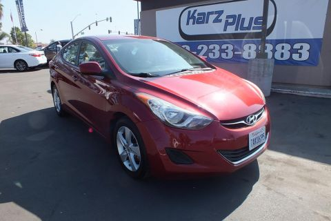 Pre-Owned 2013 Hyundai Elantra GLS Sedan 4D