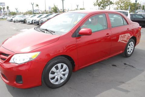 Pre-Owned 2013 Toyota Corolla S Sedan 4D