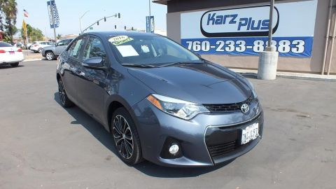 Pre-Owned 2016 Toyota Corolla S Sedan 4D