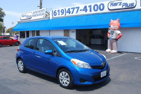Pre-Owned 2012 Toyota Yaris LE Hatchback 3D