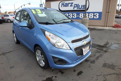 Pre-Owned 2013 Chevrolet Spark LS Manual